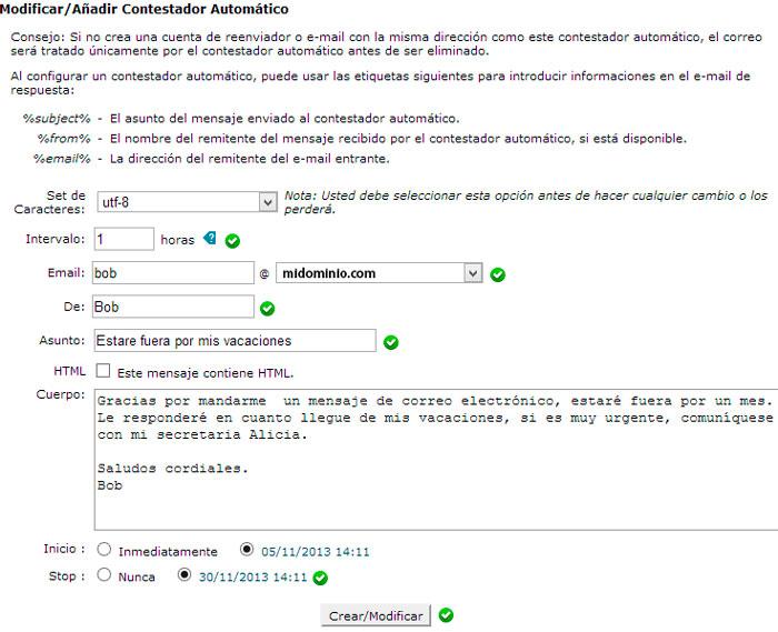 formulario lleno