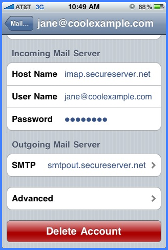 Paso 3 ssl iPhone