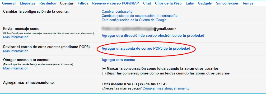 Webmail a gmail